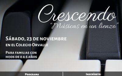Próximo evento: CRESCENDO